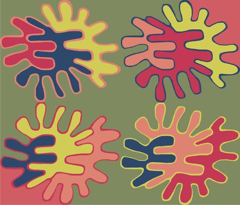 matisse fabric by mavi-elle@bigpond_com on Spoonflower - custom fabric