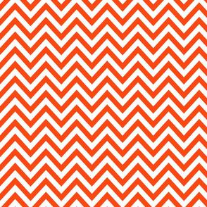 Orange n White Zag
