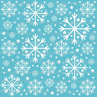 Snowflakepatternaqua_preview