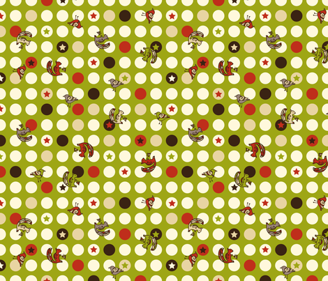 Holiday Dots fabric by karistyle on Spoonflower - custom fabric