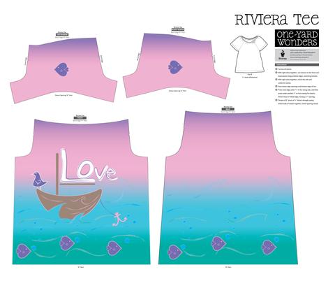 lovetee1 fabric by lerhyan on Spoonflower - custom fabric