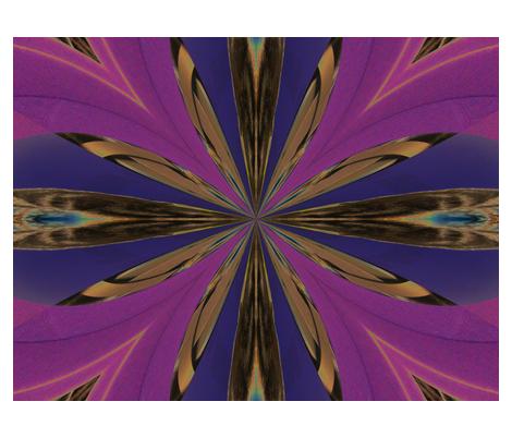 Kaleidescope 3669 v.2 fabric by wyspyr on Spoonflower - custom fabric