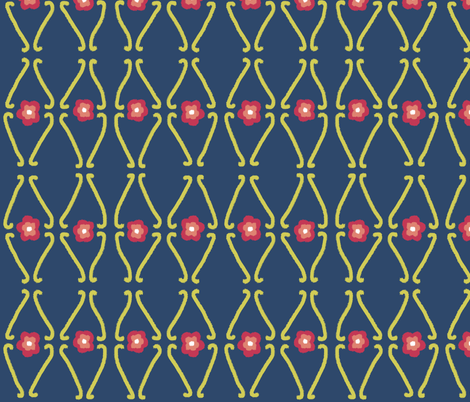 Matisse_swatch fabric by karenmayo on Spoonflower - custom fabric