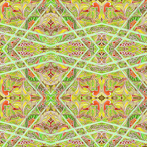 A Crooked Path fabric by edsel2084 on Spoonflower - custom fabric