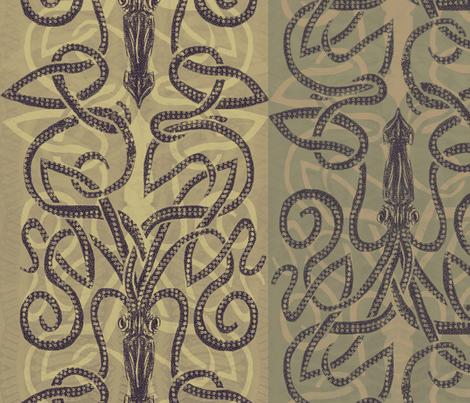 Brown Sea Planks fabric by wren_leyland on Spoonflower - custom fabric