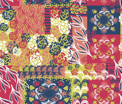 GAVANNA_-_PATCH-MATISSE fabric by gavannapatterns on Spoonflower - custom fabric