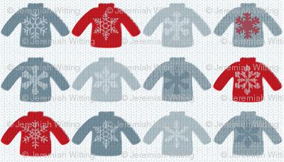 Snowflake Sweaters B