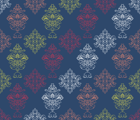 First Swede fabric by nyz on Spoonflower - custom fabric