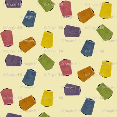 Yarn Cones - daffodil (medium)