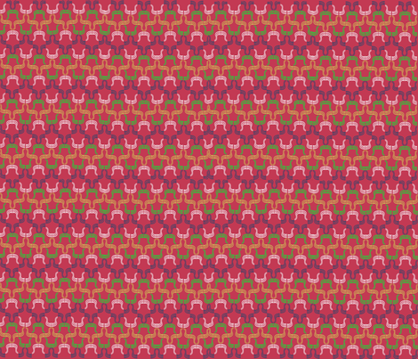 Faux Smocking fabric by scifiwritir on Spoonflower - custom fabric