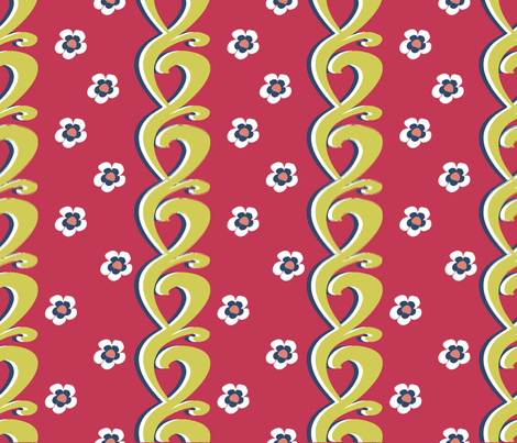 matisse fabric by riztyd on Spoonflower - custom fabric