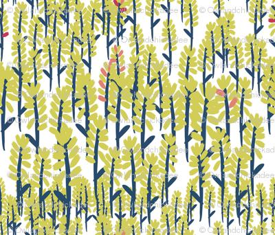 Fields - White/Gold
