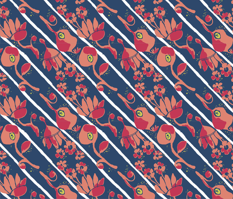 matisse Stripes fabric by amordenti on Spoonflower - custom fabric