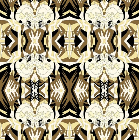 Rskull_with_stripes_cream_black_and_yellow_ed_ed_shop_preview