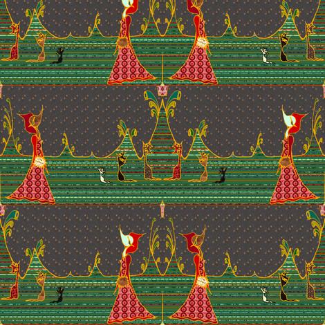 crassula pyramids fabric by emanuelletomato on Spoonflower - custom fabric