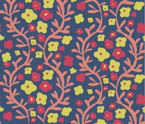 Matisse_Contest fabric by tippstert on Spoonflower - custom fabric