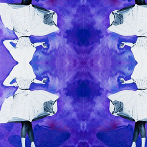 Violet Vibes Mirrored