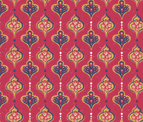 Henri's Neighbor fabric by hootenannit on Spoonflower - custom fabric