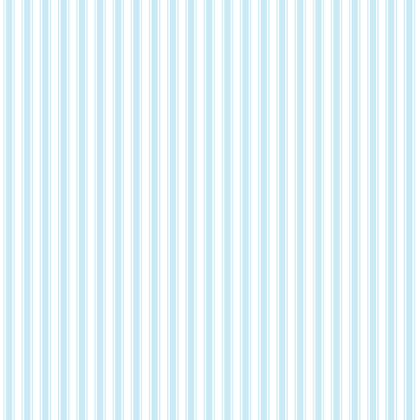 ticking stripes ice blue fabric by misstiina on Spoonflower - custom fabric