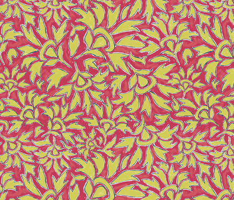 Amber_Matisse_2 fabric by adanielleh on Spoonflower - custom fabric