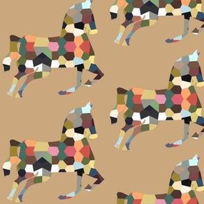 geofetti horse neutral