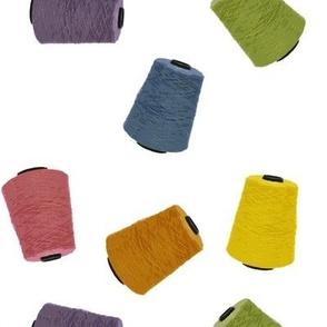 Yarn Cones - white (large)