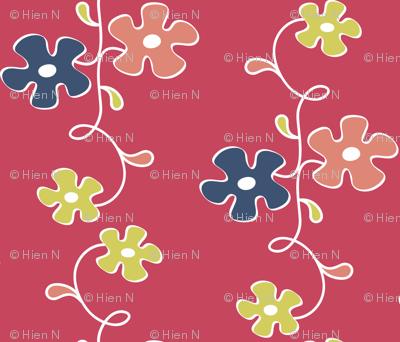 matisse flower vine