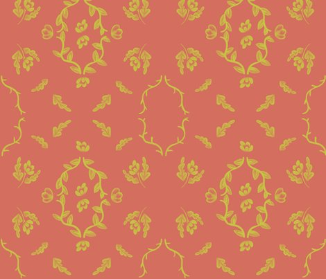 Rryellow_flower_damask_on_orange_shop_preview