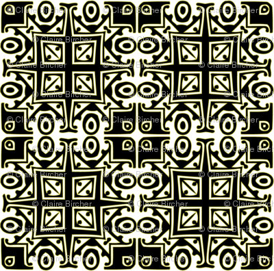 Matisse Style - Black with Green