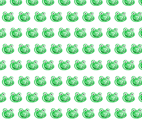 Frog fabric by larsdotter on Spoonflower - custom fabric