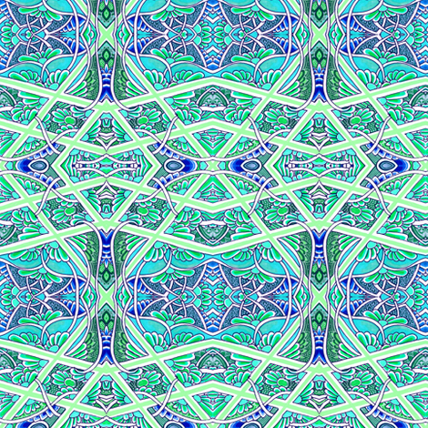 Swimmingly fabric by edsel2084 on Spoonflower - custom fabric