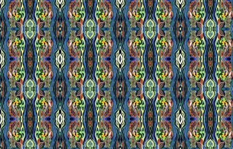 Seasons Flow fabric by rubyrice on Spoonflower - custom fabric