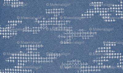 Crepe checkered cloth design