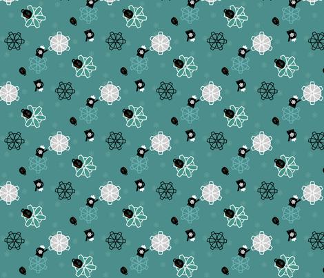 Tumbling Coffee fabric by heathermann on Spoonflower - custom fabric