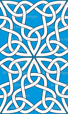 Triangle Knot Blue