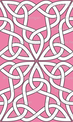 Triangle Knot Pink