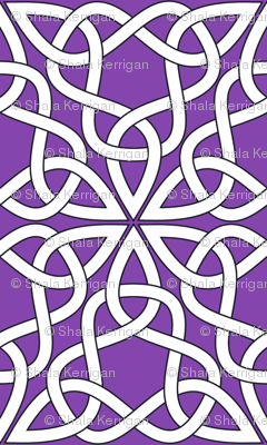 Triangle Knot Purple
