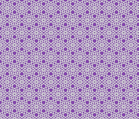 Triangle Knot Purple fabric by shala on Spoonflower - custom fabric