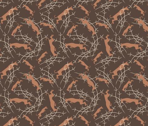 Ibizan Hounds fabric by lobitos on Spoonflower - custom fabric