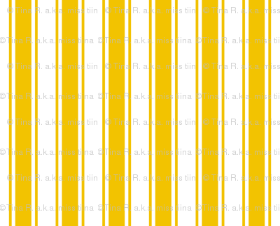 ticking stripes mustard yellow