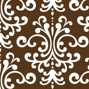 damask lg brown