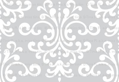 damask lg light grey