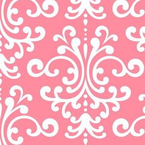 damask lg pretty pink