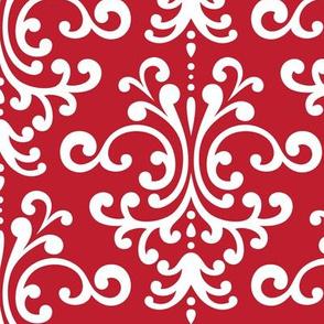 damask lg red
