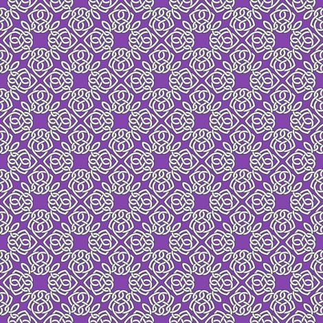 Square Knot Purple fabric by shala on Spoonflower - custom fabric