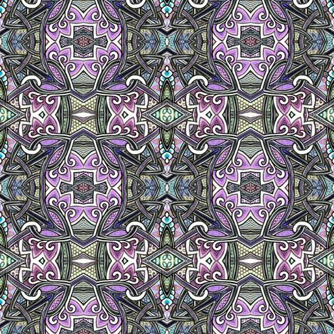 Darkly Celtic Evenings fabric by edsel2084 on Spoonflower - custom fabric