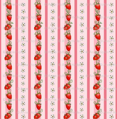 Strawberry Stripes Pink
