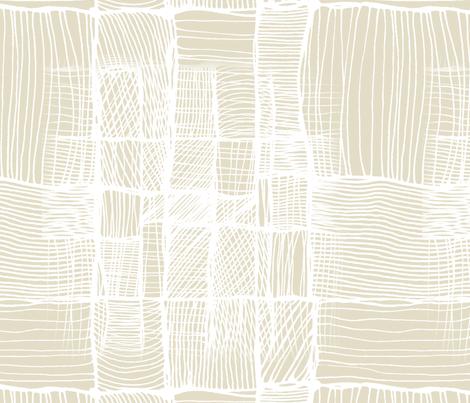 Beige threads. fabric by lena_sokol on Spoonflower - custom fabric