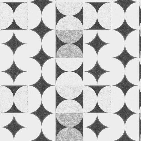 geometric_gray fabric by firemonkey on Spoonflower - custom fabric