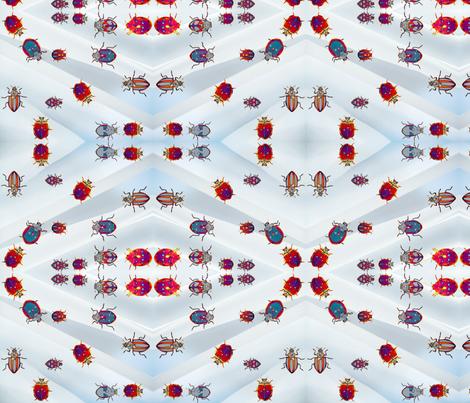 Beetles, Beetles, Beetles! fabric by robin_rice on Spoonflower - custom fabric